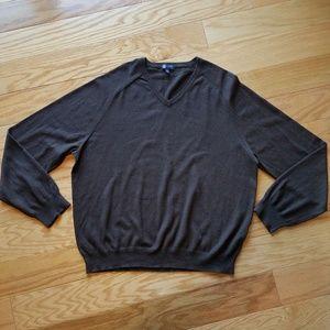 J.Crew V-Neck Cotton/Cashmere Sweater!